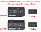 X7Ti laptop battery store, MECHREVO 47.085Wh batteries for canada