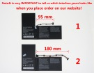 40057605 laptop battery store, medion 7.4V 37Wh batteries for canada