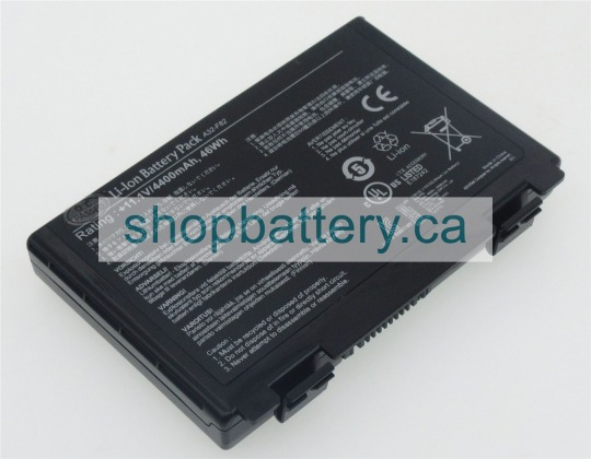 K40IN laptop battery store, ASUS 46Wh batteries for canada - Click Image to Close