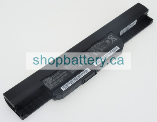 A32-K53 laptop battery store, asus 10.8V 56Wh batteries for canada - Click Image to Close
