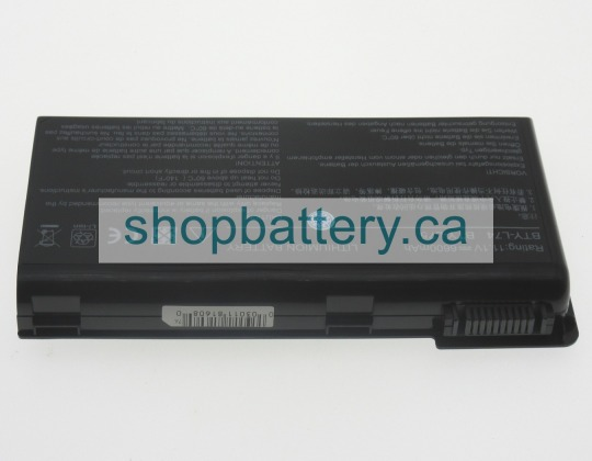 A6200 Series laptop battery store, MSI 74Wh batteries for canada - Click Image to Close