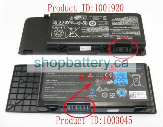 Alienware M17x R4 laptop battery store, DELL 90Wh batteries for canada - Click Image to Close