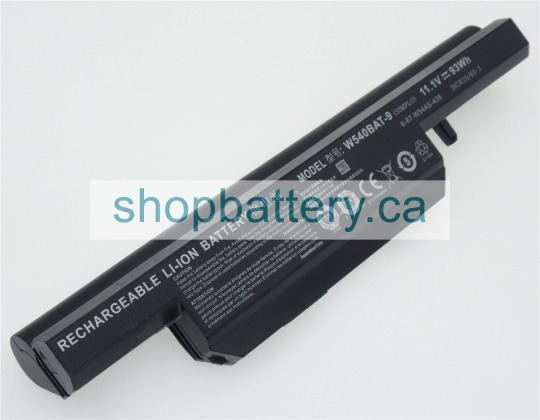 W540BAT-6 laptop battery store, CLEVO 11.1V 93Wh batteries for canada - Click Image to Close